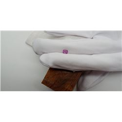Vivid Violet/Pink Sapphire, fine handcrafted 0.89 ct