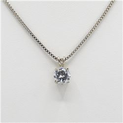 Sparkling 3.5 Ct Brilliant Lab Diamond Pendant