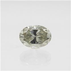 Sparkling 8 Ct VVS1 Oval Cut Diamond Solitaire
