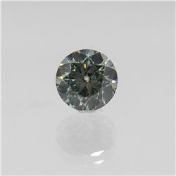 Sparkling 3.70 Ct VVS1 Round Cut Diamond Solitaire
