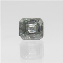 Dazzling 3.16 Ct. Mint Green VVS1 Diamond