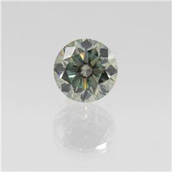 Dazzling 4.5 Ct. Mint Green VVS1 Diamond Solitare