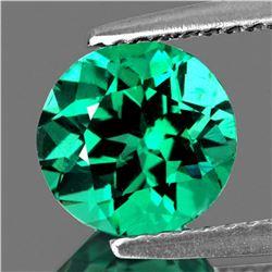 Natural Intense AAA Green Apatite 7.50 MM {VVS}