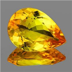 Natural Golden Yellow Citrine [Flawless-VVS]