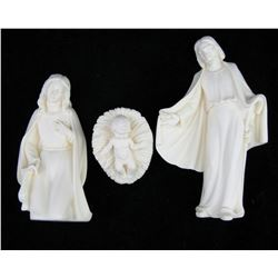 Vintage  Mary, Joseph and Baby Jesus Signed By Artist