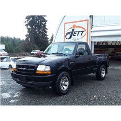 G4 --  2000 FORD RANGER  , Black , 210238  KM's