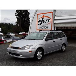 "A12M --  2003 FORD FOCUS SE  , Grey , 230170  KM's ""NO RESERVE"""