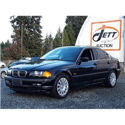 J6 --  1999 BMW 328I  , Black , 209238  KM's