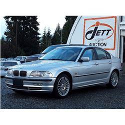 L1 --  2001 BMW 330I  , Silver , 253199  KM's