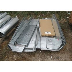 Pallet of Duct Flat Sheet Metal