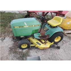 JD 185 Hyd Riding Lawn Mower - NR -AS IS