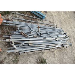 Pipe Frame for a Car Port