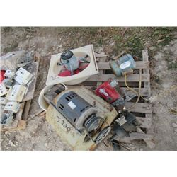 Furnace Blower , Exhaust Fan, Chain Hoist, Elec Motor & Water Pump
