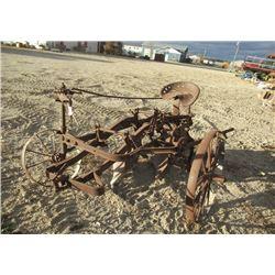 Vintage 2 B Saulky Plow