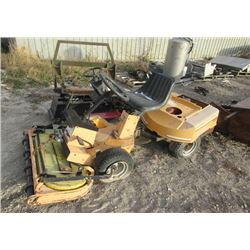 Canadian Front Mount Mower - AS IS Part of Mower - 4 Engines - Tecumseh 12 HP
