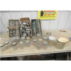 Vintage Sealers & Lids- Approx 100 Lids, Dominion, Crown, Jewell, Gem Mid West Plus More!