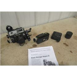 Koni- Omega Rapid M Camera w Accessories