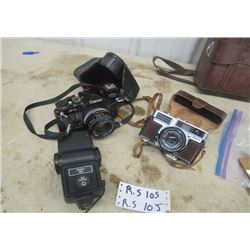 Canon Camera F-1 , Fyilo Camera & Bag