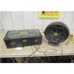 Vintage Atwater Kest Elec Radio , 1926 Complete w Speaker