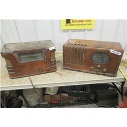 2 Vintage Radios 1) Marconi 1) Westinghouse