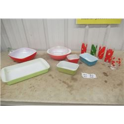 Vintage Pyrex - Bowls, Refrigerator Dishes, Retro Glasses