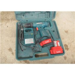 Wood Lathe & Makita 9.6 V Drill W Case