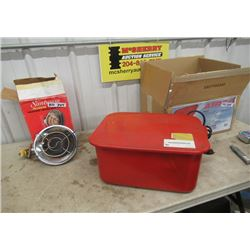 Parts Washer & Propane Heater
