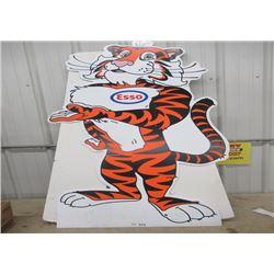 "Esso Tiger Display 62"" x 30"""
