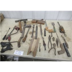Vintage Tools , Leather Punches, Forge Tools, & Leather Tools