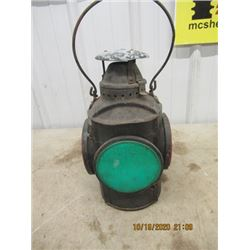 Switchman Railway Lantern - No Burner VIntage