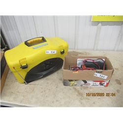 New 1500 LB Winch, Picnic Cooler/Radio Combo