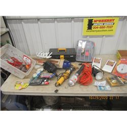 Trouble Light, Flood Light, Smoke Alarm, Hardware Hangers & Tools Boxes