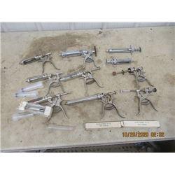 8 Auto Syringes, & 4 Throw Away Needles