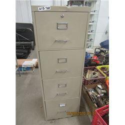 NB- 4 Drawer Metal Filing Cabinet