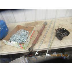 New Chain, & 3PH Stabilizing Bar & Redi Rod
