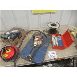 Floating Water Trough Heater, Floating Pump Plumbing Fittings, & Propane Tank