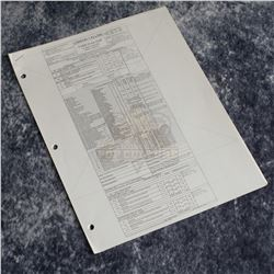 Amazing Spider-Man 2, The - Production Call Sheet & Script Sides – A508