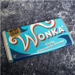 """Charlie and the Chocolate Factory – """"Chilly Chocolate Creme"""" Wonka Bar – A767"""