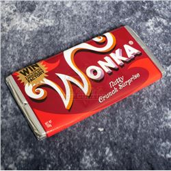 """Charlie and the Chocolate Factory – """"Nutty Crunch Surprise"""" Wonka Bar – A772"""