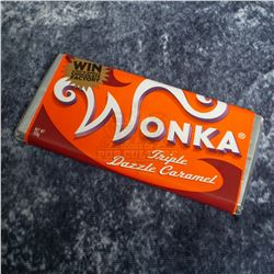 """Charlie and the Chocolate Factory – """"Triple Dazzle Caramel"""" Wonka Bar – A777"""