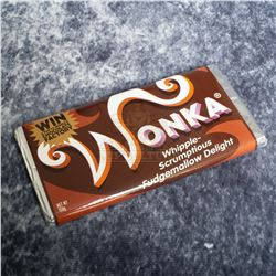 """Charlie and the Chocolate Factory – """"Whipple-Scrumptious Fudgemallow Delight"""" Wonka Bar – A782"""