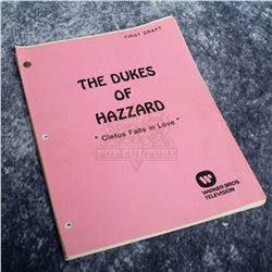 Dukes of Hazzard, The (TV) - Production Used Script – A837