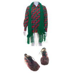 How the Grinch Stole Christmas – Elderly Timekeeper's (Rance Howard) Outfit - A875