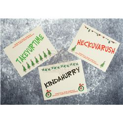 How the Grinch Stole Christmas – Whoville Mail Service Stickers – A859