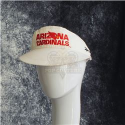 "Jerry Maguire – Dennis Wilburn's (Glenn Frey) ""Arizona Cardinals"" Visor– A548"
