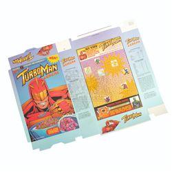 Jingle All The Way - Turboman Cereal Box - A898