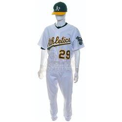 Moneyball – Jeff Tam's Oakland A's Home Uniform – A700