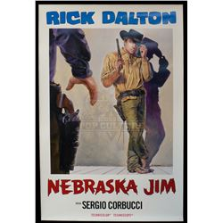 """Once Upon a Time... in Hollywood – """"Nebraska Jim"""" Poster - A872"""