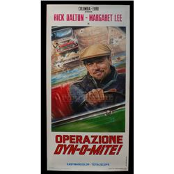 """Once Upon a Time... in Hollywood – """"Operazione Dyn-o-Mite!"""" Poster - A877"""