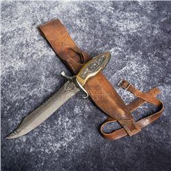 Priest - Hicks' Knife & Holster - A804